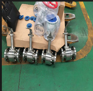 Metal To Metal Cryogenic Ball Valve Extension Stem LF2 F304 F316 BODY , Lip Seal